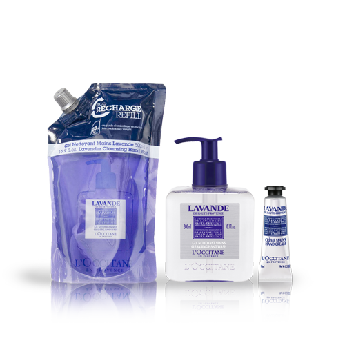 zoom view 1/1 of Lavender Hand Wash Eco-Refill Bundle