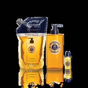 Shea Shower Oil Eco Refill Bundle, , SG