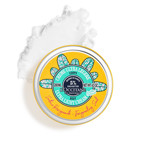 zoom view 1/5 of Invigorating Shea Ultra Light Body Cream