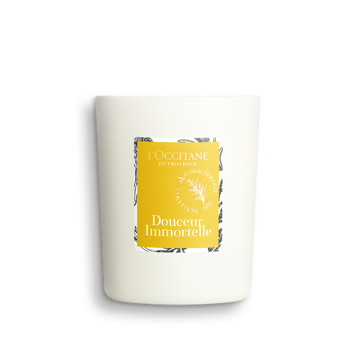 zoom view 1/3 of Douceur Immortelle Uplifting Candle