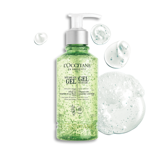 zoom view 1/3 of Gel-to-Foam Facial Cleanser