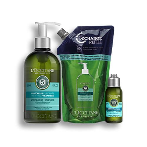 zoom view 1/1 of Purifying Freshness Shampoo Bundle