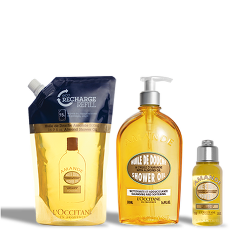 zoom view 1/1 of Almond Shower Oil Bundle