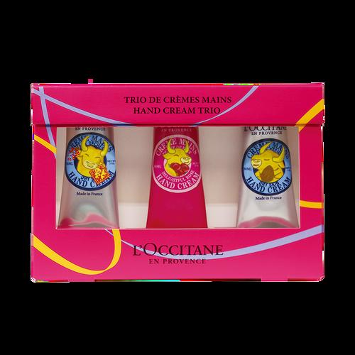 zoom view 1/2 of Hand Cream Trio CNY 2021