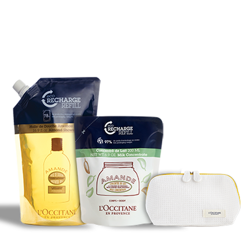 zoom view 1/1 of Almond Eco-Refill Bundle