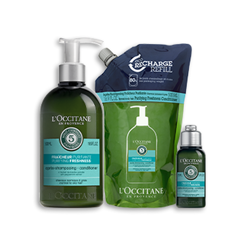 zoom view 1/1 of Purifying Freshness Conditioner Bundle